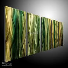 2017 metal wall art abstract contemporary sculpture home decor
