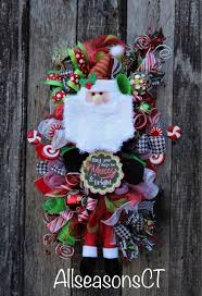 best 25 santa wreath ideas on pinterest diy door wreaths