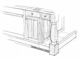 Kitchen Cabinet Diagrams Kitchen Design By Schlaud Custom Woodworking And Craftsmanship