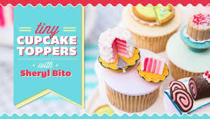 cupcake toppers tiny cupcake toppers cake decorating class craftsy