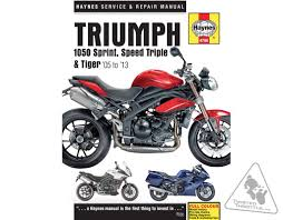haynes repair manual for triumph sprint st 1050 u002705 u002713 speed
