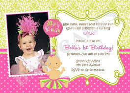1st birthday invitation card wordings best 25 1st birthday