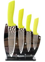 lime green kitchen knife set rocknife ceramic knives