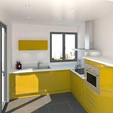 meuble micro onde cuisine meuble four micro onde cuisine jaune curry au style pop