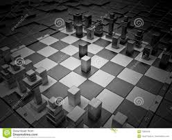 Chess Board Design Futuristic Chess Stock Illustration Image 70605948