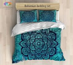 bohemian bedding mandala duvet cover set bohochic bedroom