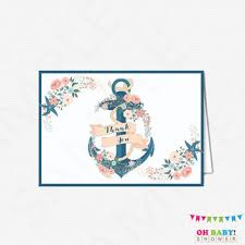 nautical thank you cards best thank you cards nautical products on wanelo