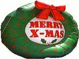 Cheap Inflatable Christmas Decorations Uk by Giant Cheap Airblown Inflatables Merry X Mas Buy Outdoor U0026 Indoor