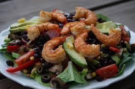 blackened shrimp salad my story in recipes