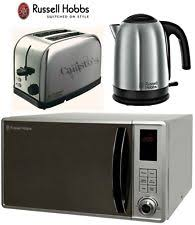 Silver Toaster And Kettle Set Russell Hobbs Kettle And Toaster Sets Ebay