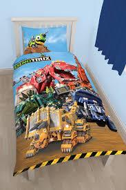 Postman Pat Duvet Set New Dinotrux Single Duvet Quilt Cover Set Boys Kids Bedroom