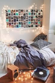 guirlande lumineuse deco chambre 60 idées en photos avec éclairage romantique décoration