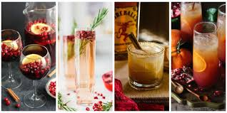 best cocktails for thanksgiving 30 easy christmas cocktails best recipes for christmas alcoholic