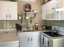 remove kitchen cabinet doors for open shelving ten tips for a small kitchen seem big simple
