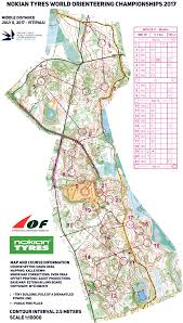Java World Map by Woc Middle 2017 Women July 6th 2017 Orienteering Map From