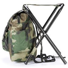 Folding Chair Backpack Chair Outdoor Portable Folding Stool Backpack Portable Folding