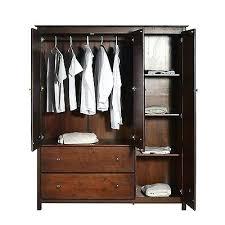 wood wardrobe armoire black wood wardrobe armoire solid wood