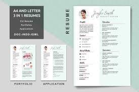 resume portfolio template a4 letter creative resume templates modern resume cv