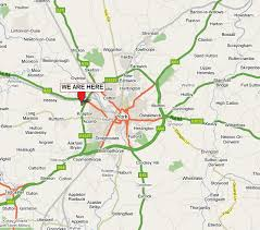 road map of york contact us