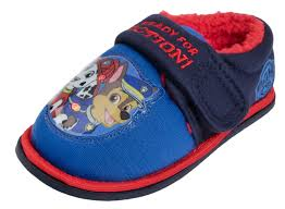 paw patrol light up sneakers boys paw patrol flashing light up slippers mules shoes chase