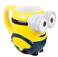 minions 3d stuart mug with scented charm