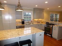 our new ikea kitchen bianco romano granite bm fieldstone