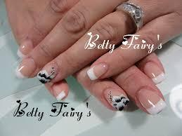 deco ongle en gel noir et blanc ongles naturel tous les messages sur ongles naturel page 40