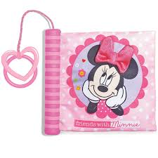 minnie mouse photo album minnie mouse soft book with spine disney baby