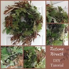 how to make an autumn wreath with wild grape vines diy tutorial
