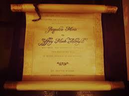scroll wedding invitations vintage scroll wedding invitation 12 steps