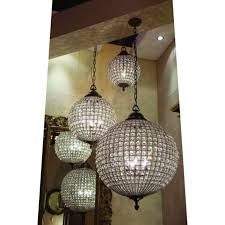 Light Fixture Stores Round Crystal Antique Brass Chandelier Large Cotterell U0026 Co