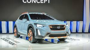 subaru concept cars sporty rugged subaru crosstrek concept debuts in north america