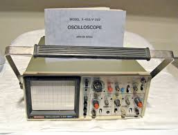 hitachi denshi oscilloscope model v 422 v 222 w manual tested