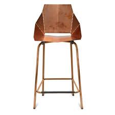 blu dot bar stool blu dot real good bar stool copper copper bar stools in bar stools