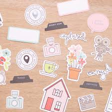 currently edition die cut shapes scrapbook supplies becky higgins