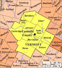 Map Vermont Vermont Old Cemetery Association
