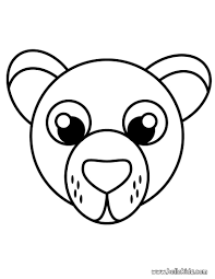 brown bear brown bear great bear face coloring page coloring
