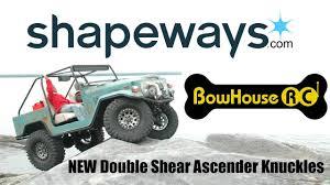 vaterra ascender jeep comanche pro gcm cmax u0027comp toy u0027 16 bowhouserc ascender knuckle upgrade