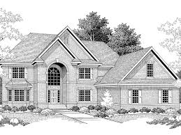 traditional two story house plans harfleur traditional luxury home plan 051s 0040 house plans and more