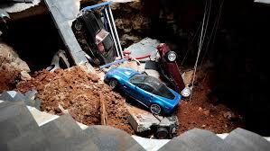 national corvette museum sinkhole a sinkhole at the corvette museum nytimes com