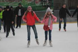 at the ice rink in lviv ukraine u2013 bicycle touring pro