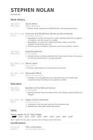 sports resume template athletic resume template sportseditorresume exle jobsxs