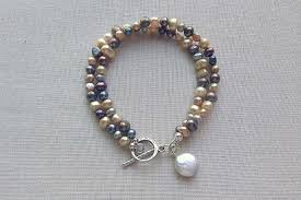 pearl bracelet clasps images Use a counterweight to keep your clasp out of sight JPG