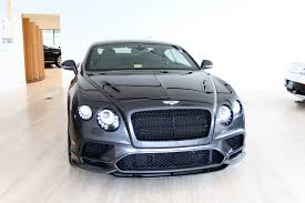 bentley continental supersports 2017 bentley continental supersports stock 7n064556 for sale