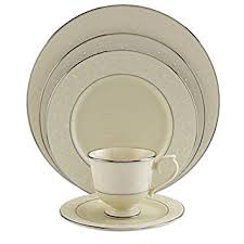 lenox pearl innocence platinum banded china 5