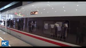 Italy At High Speed By by China U0027s New Bullet Trains Launched On Beijing Shanghai High Speed