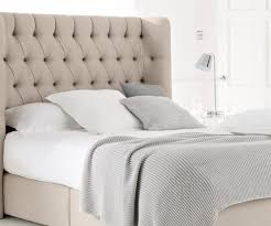 King Size Padded Headboard Showy Rolled Also Tufted Headboard By Standard Also Rolled And