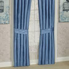 Blue Valances Window Treatments Arabelle Blue Toga Swag Valance Window Treatment