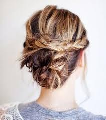 chignon tressã mariage les 66 meilleures images du tableau coiffure sur