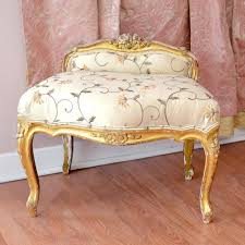 Leopard Print Swivel Chair Vanities Leopard Print Vintage Chair With Gold Leaf Antique